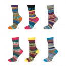 Großhandel Strümpfe & Socken: SOXO Weibliche Socken, gemusterte Socken
