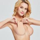 Self-adhesive adhesive bra (1 pair) Beige