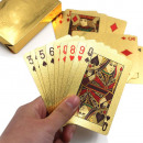Set of 54 gold plated cards