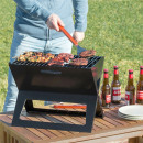 FOLDYQ: Foldable and Portable Charcoal Barbecue
