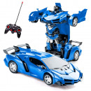 wholesale RC Toys: Convertible remote control car Blue