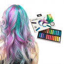 Pack of 24 Chalks for Hair for Coloring