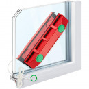 Magnetic Window Washer Squeegee for Triple Glazing