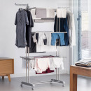 wholesale Bedlinen & Mattresses: Multifunction folding laundry drying rack with cas