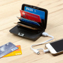 Security Card Holder and Power Bank Wallet