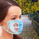 RESPI TÁMOGATÁS: 5 3D szilikon maszkotartó