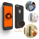 Anti-gravity shell for Iphone with Nano Suction Cu