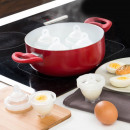 Set of 6 Hard Shell Egg Cookers