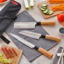 wholesale Knife Sets: DAMASCUS: Set of 3 Japanese Kitchen Knives