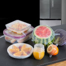 wholesale Kitchen Gadgets: Pack of 6 silicone stretch covers