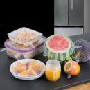 mayorista Ayudantes de cocina: Pack de 6 fundas de silicona expansibles.