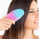 Ionic detangling brush for gentle brushing
