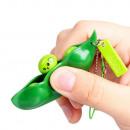 Keychain Small Peas Anti-Stress form Bean