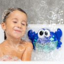 wholesale Toys: Musical crab with soap bubbles for bath