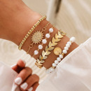 groothandel Sieraden & horloges: SELENA ARMBAND: Set van 5 Boheemse armbanden