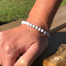 wholesale Jewelry & Watches: White Howlite Stabilizing Bracelet