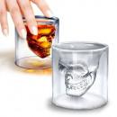 Glasschädel - Schädel-Shooter für Whisky