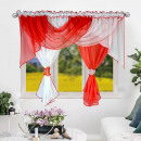 wholesale Curtains & Drapery: Curtain Voile 160x400 on a red tape