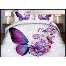 grossiste Maison et habitat: Parure de lit coton 160x200 4 pièces A-2905