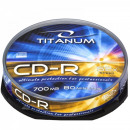 wholesale DVDs, Blue-rays & CDs: CD-R TITANUM - CAKE BOX 10 PCS.