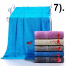 wholesale Towels: Set towelcoton 500G 70x140 7).