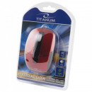 wholesale Computer & Telecommunications: TITANUM WIRED MOUSE 3D OPT. USB BARRACUDA RED