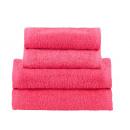hurtownia Akcesoria i tekstylia kąpielowe: Ręcznik Frotte 70x140 500g Ciemny Różowy