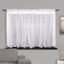 wholesale Curtains & Drapery: CURTAIN READY 400x150 VOILE GRAY TAPE