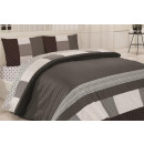 wholesale Children's and baby clothing: Bedding set coton 200x220 Madora Bordeaux