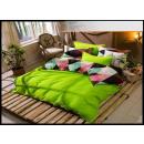 mayorista Casa y decoración: Juego de cama algodón 160x200 3 partes C-965 -