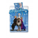 Komplet Pościel Bawełna 160x200 Frozen Disney