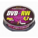 grossiste Electronique de divertissement: DVD + RW ESPERANZA 4,7GB X4 - CAKE BOX 10 PCS.