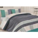 Großhandel Kinder- und Babybekleidung: Bettwäscheset Baumwolle 200x220 Madora Mavi