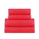 towel terry coton 70x140 Chili Red