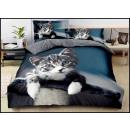mayorista Casa y decoración: Juego de cama algodón 160x200 3 partes A-4911
