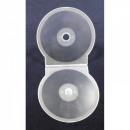Box for 1 CD / DVD - 5mm - Shell - Clear Mat