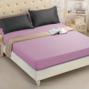 Fitted sheet 140x200 coton heather