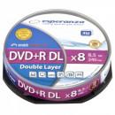 ingrosso Elettronica di consumo: DVD + R ESPERANZA 8,5GB X8 DL - CUSTODIA SLIM 1 PZ