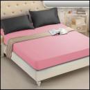 groothandel Bedtextiel & matrassen: Badstof laken 60x190 Roze