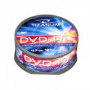 wholesale DVDs, Blue-rays & CDs: DVD-R TITANUM 4.7 GB X16 - CAKE BOX 25