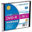 wholesale DVDs, Blue-rays & CDs: DVD + R Esperanza 4,7GB x16 - Slim Case 1 pc.