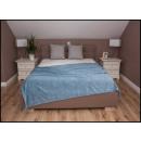 wholesale Cushions & Blankets: blancket Plaid 150x200 Cobalt