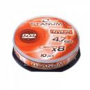 wholesale DVDs, Blue-rays & CDs: DVD-R TITANUM 4.7GB X8 - CAKE BOX 10 PCS.