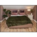 wholesale Cushions & Blankets: blancket 160x200 Dark Green