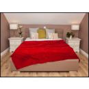 wholesale Cushions & Blankets: blancket Plaid Fleece 150x200 Scarlet