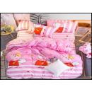 Ein Satz Bettwäsche Baumwolle 140x200 C-3608 -
