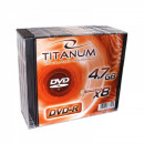 DVD-R TITANUM 4.7GB X8 - SLIM CASE 10 PCS.
