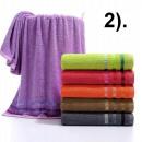 conjunto toallaalgodón 500G 70x140 2).