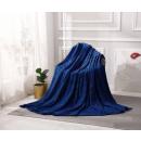 mayorista Casa y decoración: manta Diseño Microfibra 200x220 Azul Marino