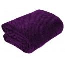 wholesale Cushions & Blankets: blancket Ricky Microfiber 150x200 Violet